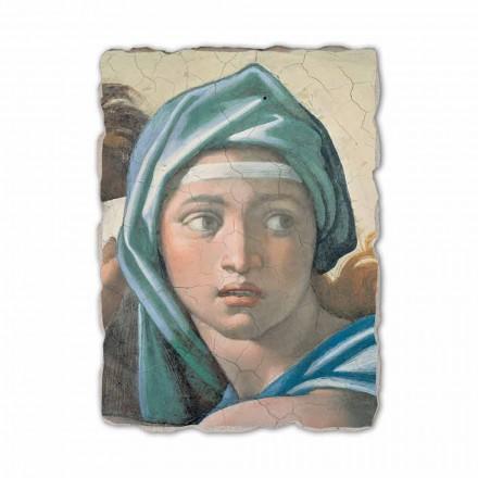 Fresko Michelangelo die delphische Sybille