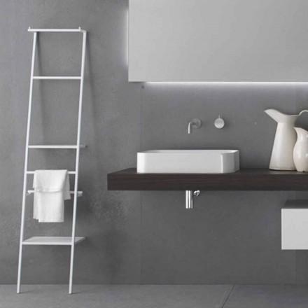 Weißer oder farbiger moderner Design-Leiter-Kleiderbügel - Caloina