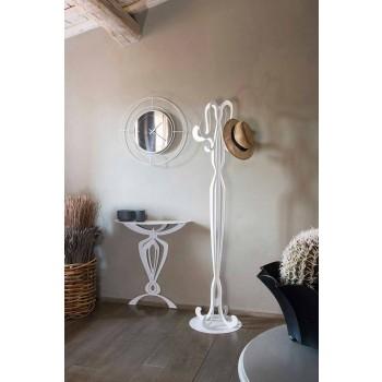 Acht Haken Eisen Design Coat Stand Made in Italy - Giunone