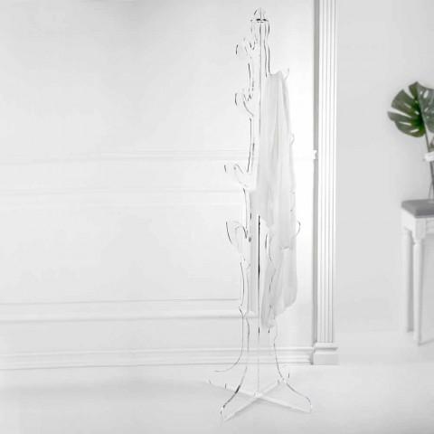 Boden Kleiderbügel in transparentem Plexiglas Design für den Eingang - Alibi