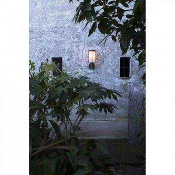 Außenwandleuchte aus Messing und weißem Glas - Loggia von Il Fanale