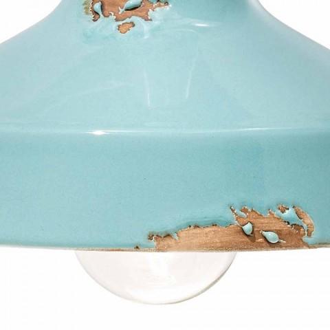 Applikationen Vintage keramische Rampenlicht handgefertigt Sandra Ferroluce