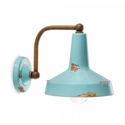 Wandlampe aus Keramik handgefertigt Sandra Ferroluce