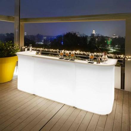 Garten-Bartheke mit modernem Design Slide Break Line hergestellt in Italien