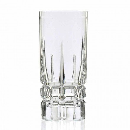 Highball Cocktail Glasbecher High 12 Stück in Eco Crystal - Fiucco