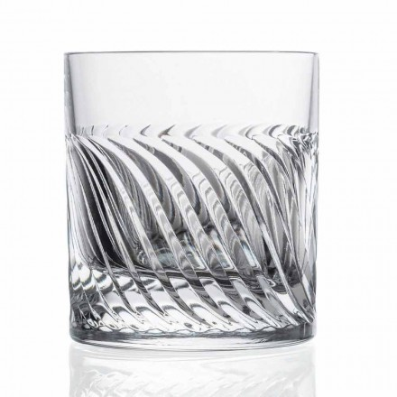Luxus Eco Crystal DOF Design Whiskygläser 12 Stück - Arrhythmie