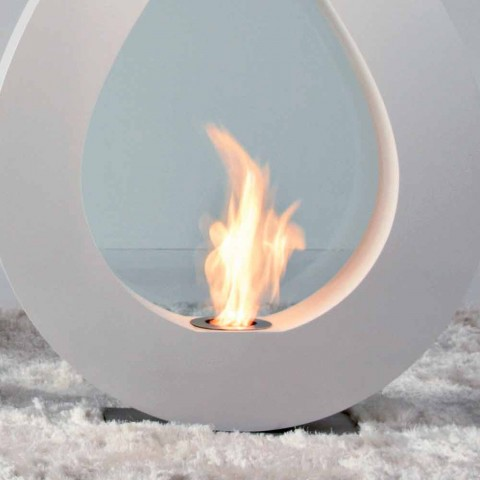 Biocamino von Bioethanol Erde, Flamme modernes Design in der Form Todd