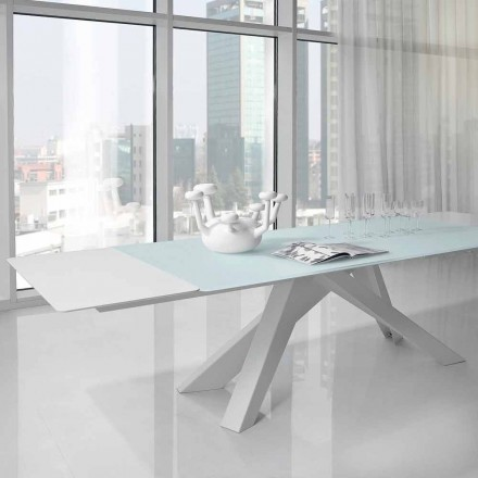 Bonaldo Big Table Ausziehtisch aus Kristall, Design made in Italy