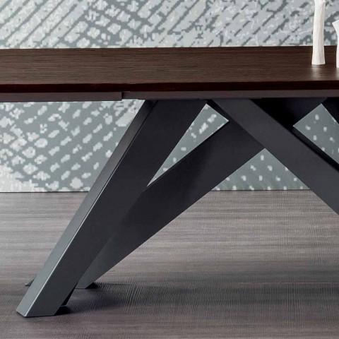 Bonaldo Big Table erweiterbarer Tisch aus Italien Design Holz