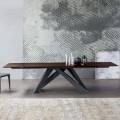 Bonaldo Big Table Ausziehtisch aus Holz, Design made in Italy