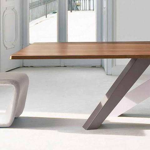 Bonaldo Big Tisch furniert Holztisch in Italien Design gemacht