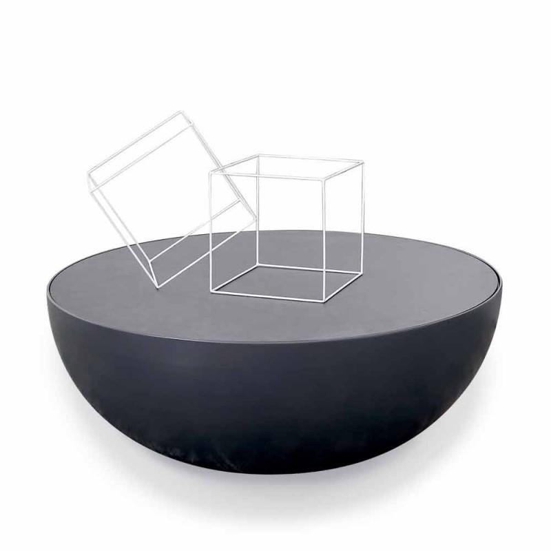 Bonaldo Planet Design Couchtisch in geätztem Glas in Italien hergestellt