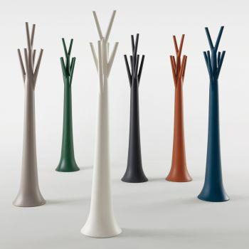 Bonaldo Tree Indoor / Outdoor Kleiderbügel aus Polyethylen hergestellt in Italien