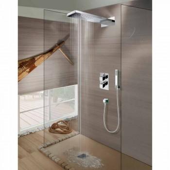 Bossini Manhattan Duschkopf aus Edelstahl mit Dusche, regen