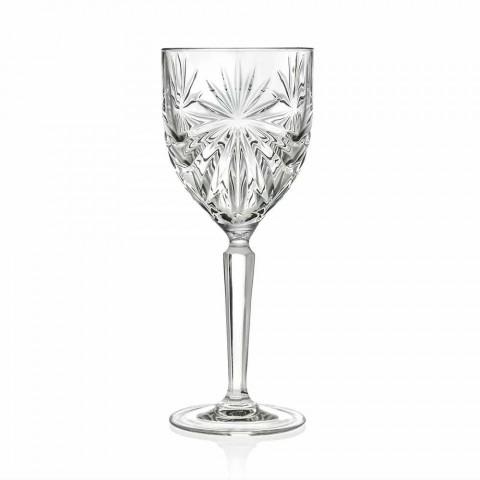 12 Stück Ökologische Kristallwein- oder Wassergläser - Daniele