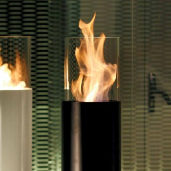 Bioethanol-Kamin Außen Dean lackiertem Stahlboden
