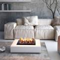 Elektrischer Tisch oder Stehkamin Kaminfeuer Dickinson