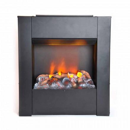 Elektro Brennkammer mit Heizung Cardiff Design