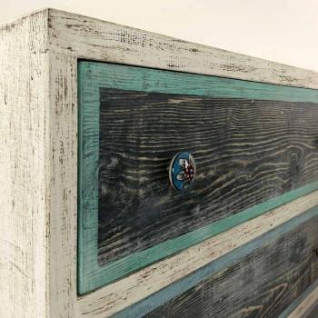 Artisan Kommode aus Tannenholz mit 3 Schubladen Made in Italy - Monkey