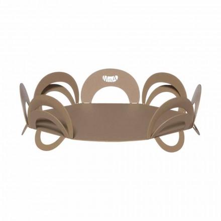 Großes Design-Herzstück aus handgefertigtem Eisen, hergestellt in Italien - Futti