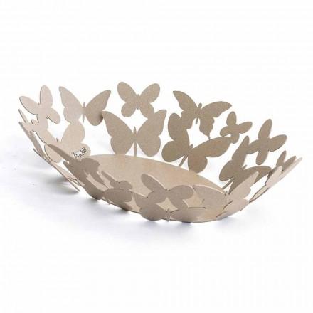 Modernes ovales Herzstück aus Edeleisen, handgefertigt in Italien - Leiden