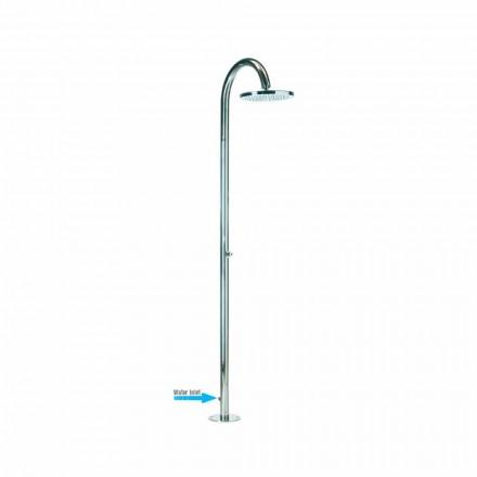 Bossini Duschsäule   Oki in modernem Design mit seitlichem Wasserzulauf