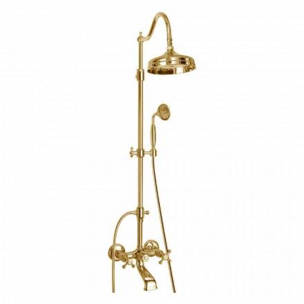 Verstellbare Messing-Duschsäule mit Made in Italy Bath Group - Fedrio