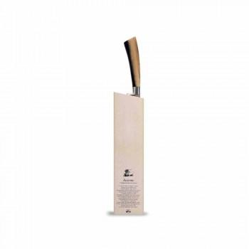 Brotmesser Zusammen mit Ceppo Berti exklusiv für Viadurini - Gualdo