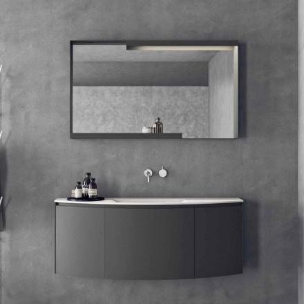 Modern Design Hängende Badezimmermöbel Zusammensetzung - Callisi3