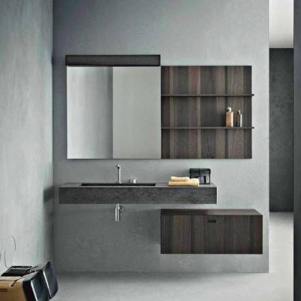 Komposition für hängendes Badezimmer und modernes Design Made in Italy - Farart9