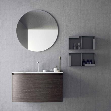 Komposition für das hängende Badezimmer mit modernem Design Made in Italy - Callisi11