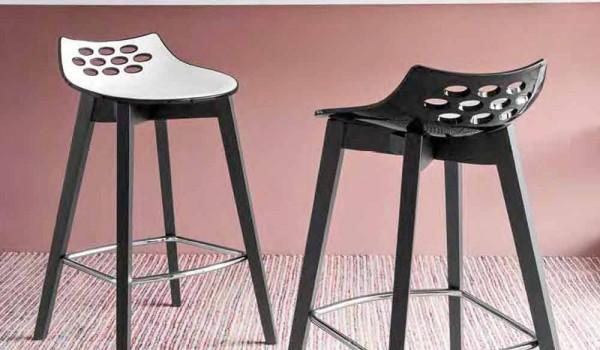 Connubia calligaris jam w moderner design holzhocker stück