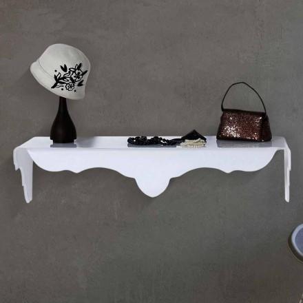 Weiße Wandkonsole, weiß, made in Italy
