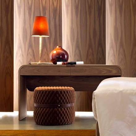 Design Konsolentisch aus Massivholz Grilli York made in Italy