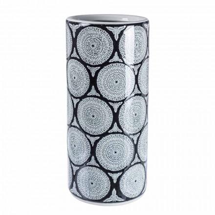 Paar moderne Porzellan Schirmständer mit Homemotion Dekorationen - Jimbo