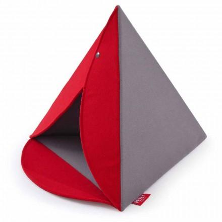 Indoor Schlafplatz für Hunde und Katzen abziehbar - Piramide