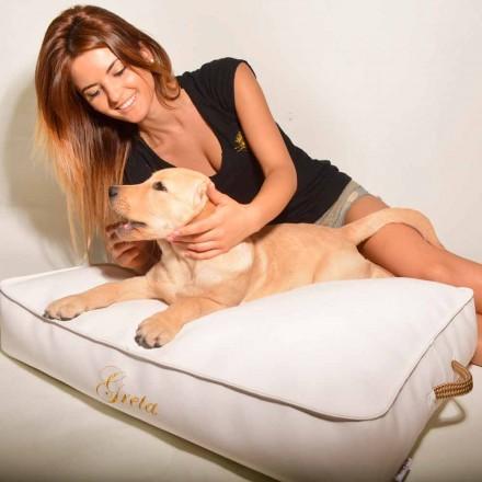 Hundekissen für den Indoorbereich aus Kunstleder Doggy Cloud