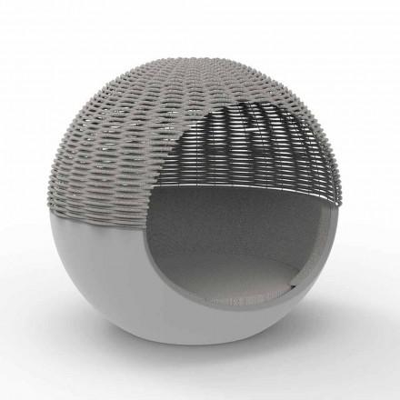 Luxus Garten Daybed Round Design mit geflochtenem Seil - Ulm Moon von Vondom