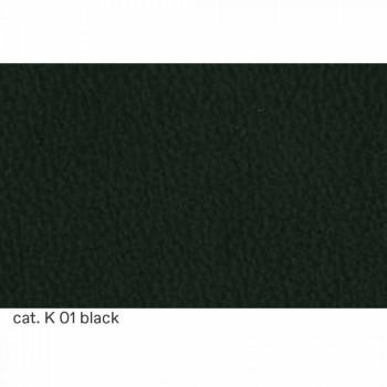 2-Sitzer-Sofa gepolstert und gepolstert mit feinem Leder Made in Italy - Centauro