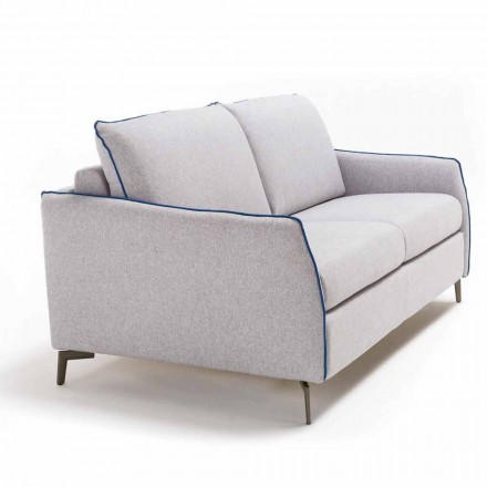 Zweisitzer-Sofa maxi L. 165cm Kunstleder/Stoff made in Italy Erica
