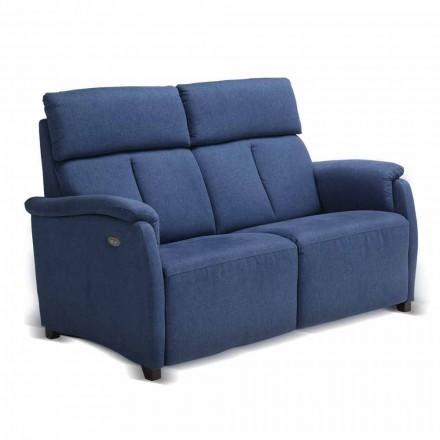 Zweisitzer-Sofa modernes Design aus Leder/Kunstleder/Maulbeergewebe