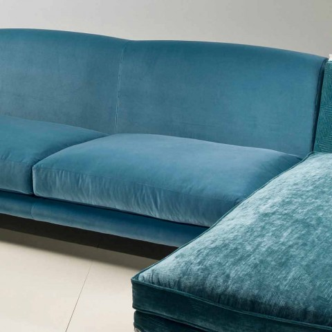 Ecksofa Design klassischen Luxus, hergestellt in Italien, Narciso