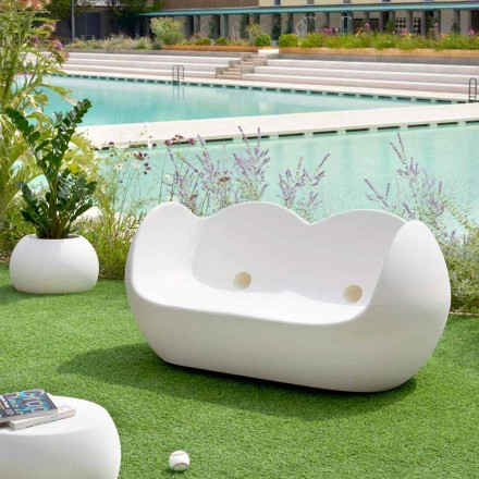 Schaukelsofa Slide Blossy im modernen Design, made in Italy