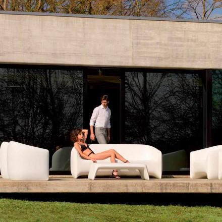 Modernes Outdoor-Sofa aus Polyethylenharz, Blow von Vondom