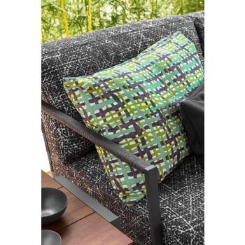 3-Sitzer-Gartensofa aus Aluminium und Stoff - Cottage Luxury von Talenti