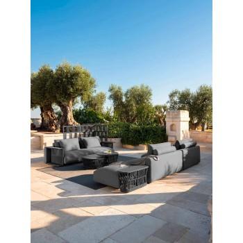 Central Modular Fabric Garden Sofa - Cliff Decò von Talenti