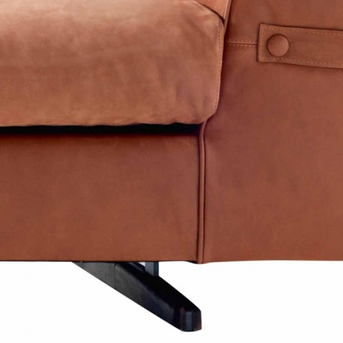 3-Sitzer gepolstertes Stoffsofa Grilli Joe made in Italy