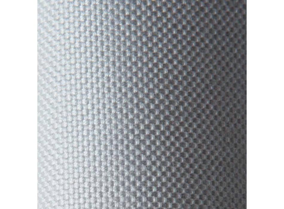 3-Sitzer-Outdoor-Sofa aus Metall, Seil und Stoff Made in Italy - Mari