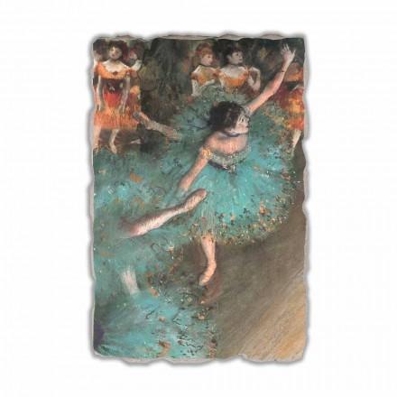Fresko Edgar Degas die grüne Tänzerin