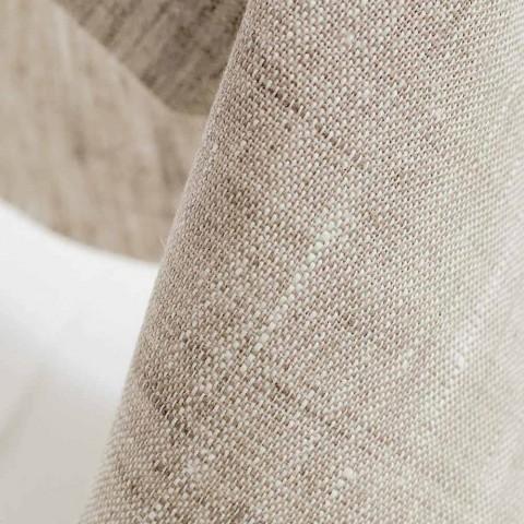 Bettkissenbezug aus reinem Naturleinen Made in Italy - Blessy